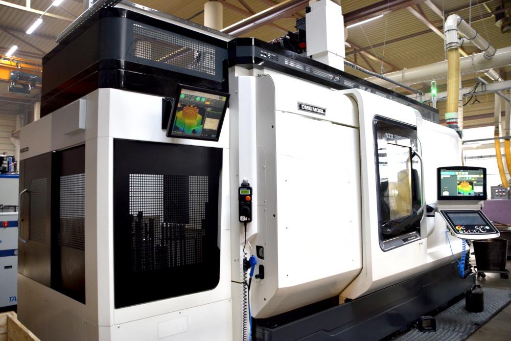 Un moyen de mesure intégré directement sur notre machine DMG Mori NZX 2000