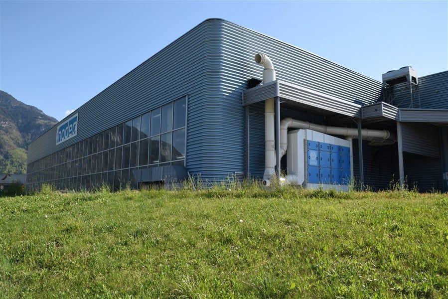 Installation d'une aspiration centralisée chez INODEC